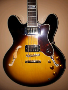 Epiphone Sheraton II VS excelent condition  swap or 550.00