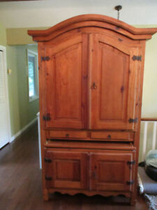 Armoire & 2 Night Tables