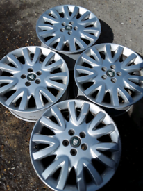 "18"" Jaguar, Volvo, Ford alloy wheels (366)"