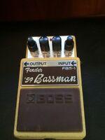 Fender '59 Bassman guitar pedal