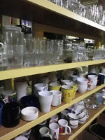 FAPO: Loads of dishes, glasses, cups