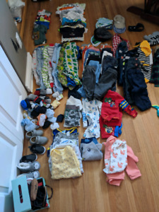 Lot of infant boys clothes!