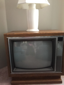 Sanyo  TV in Wooden Cabinet