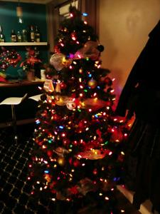Sapin de Noel - avec lumière
