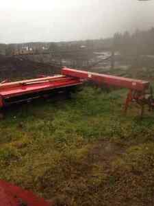 Vicon 321 disk bine Massey combine other farm equipment