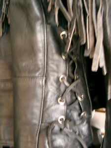 Classic fringed bikers jacket  recycledgear.ca Kawartha Lakes Peterborough Area image 6