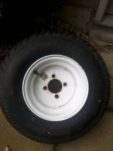 New Trailer tire
