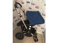 Bugaboo Cameleon 3 with royal blue hood. Chassis is ex display!