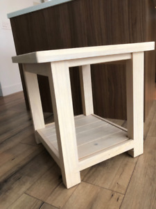 Ikea REKARNE end table/coffee table, pine, perfect condition