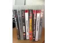 8 PS3 Games