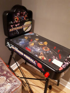 Arcade mini pinball game set
