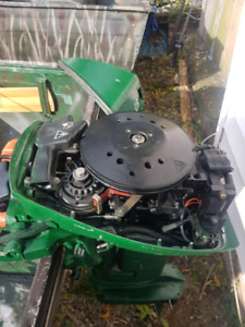 14 foot boat motor and trailer