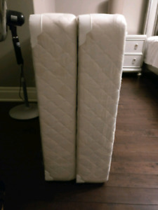 2 peice king size boxspring, low profile!