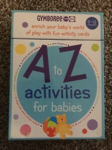 Gymboree A to Z activity cards