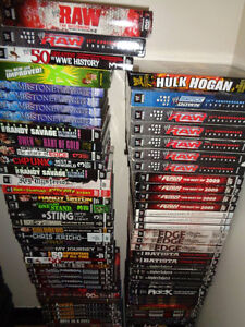 HUGE Wrestling Clearance Sale! WWE/TNA/WCW - VHS and DVD! London Ontario image 3