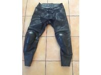 Triumph Leather Motorcycle Trousers