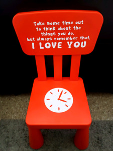 Time out chair- Brand New
