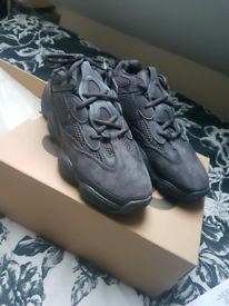 Brand New Adidas Yeezy 500 Utility Black, UK 7.5