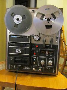 Vintage Akai GX-1900D reel-to-reel tape deck
