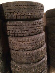 4x pneus hiver 195/65R15 bridgestone blizzak ws70
