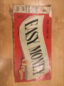 Vintage 1950/60's The Game Of Easy Money Boardgame