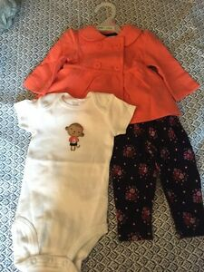 3-Months Old Outfit- Girl - New with tags