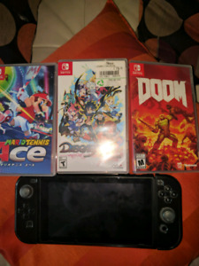 NINTENDO SWITCH + Games
