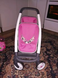 Quinny double pushchair