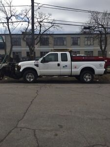 2008 Ford F-350 Snow Plow Salter Trucks