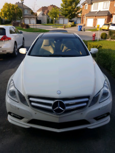 E 350 Coupe 2010 great condition never accidented