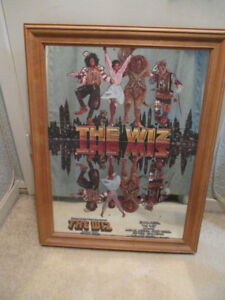 RARE THE WIZ Movie Mirror Diana Ross Michael Jackson