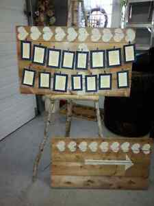 Wedding Seating Chart & Sign