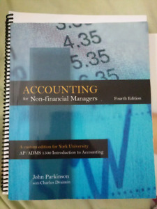 ACCOUNTING FOR NON FINANCIAL MANAGERS 4TH EDITION