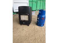 Mobile calor gas heater