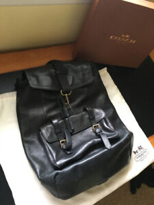Coach Bleecker Backpack- Leather