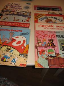 11 Children LP vinyl's  for $20.00