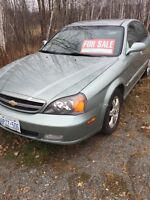 2006 Chevy Epica - fully loaded only 148,000 km
