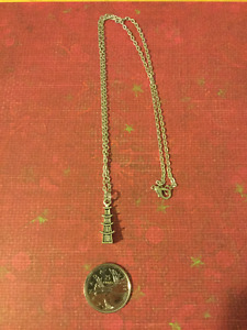China Tower Necklace