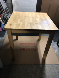 Dinning Wood  Table  for 4