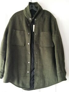 Green Wull Jacket/Outerwear