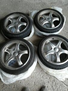 Rims (16 inch) & Tires (Low Profile) - Used Only 1 Season!