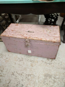 Pink Wooden Box