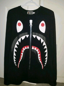 Bape Shark Head L/S tee