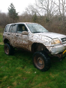 Grand vitara woth 79 jeep frame and running gear