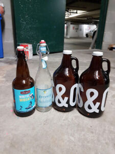 Re-usable beer bottles