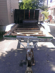 FLAT BED TRAILER , NEED IT GONE , LET'S MAKE A DEAL??