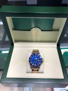 Rolex Submariner Date Two-Tone 40mm, Blue Dial