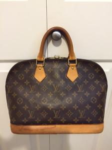 Authentic LOUIS VUITTON ALMA PM Bag