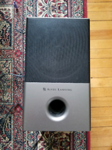 Altec Lansing speakers with subwoofer
