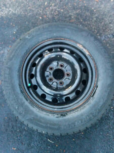 4x winter tires and rims -215/70r16 - $450/set of 4